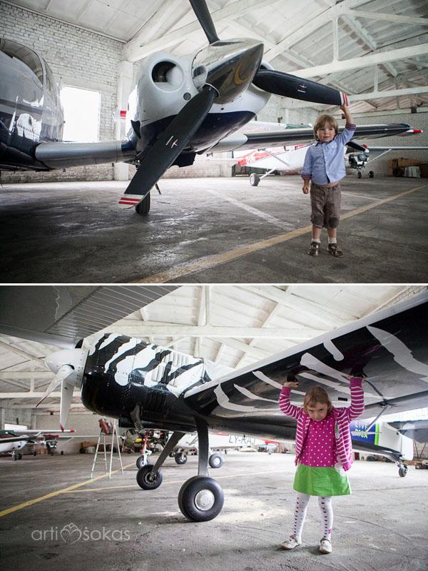 Berniukų gimtadieniai - Lėktuvai