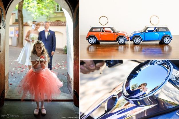 Mini Cooper vestuvėse