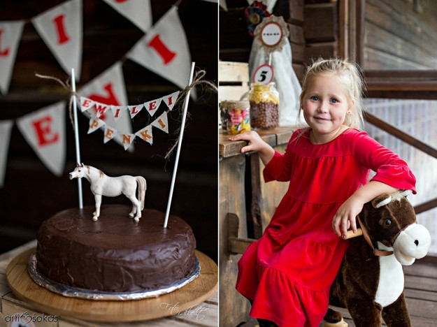 Teminis gimtadienis žirgyne