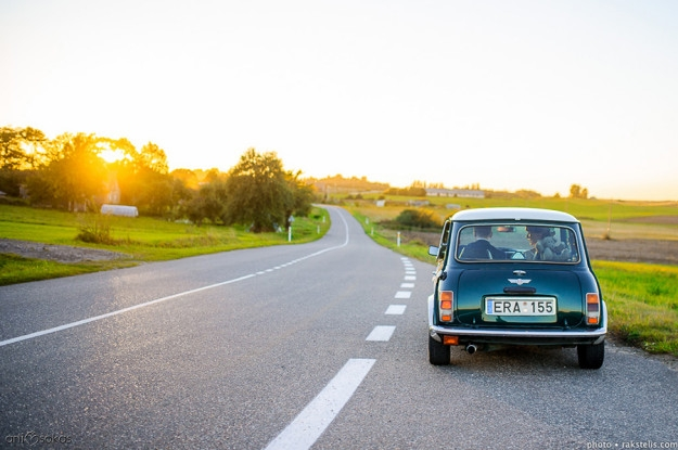 Vestuvių transportas - Mini Cooper