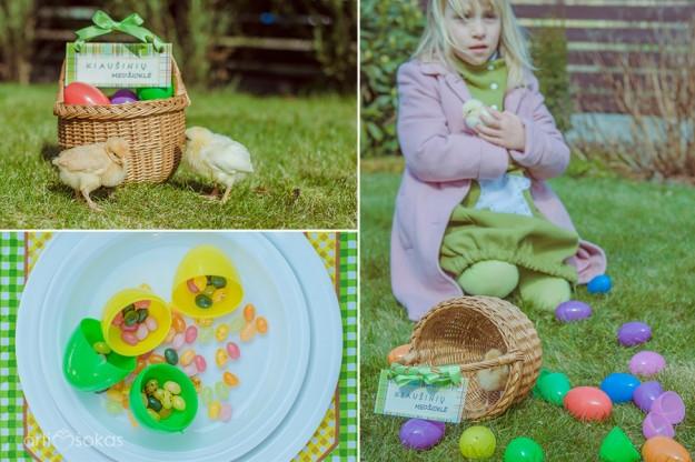 Velykos - kiaušinių medžioklė