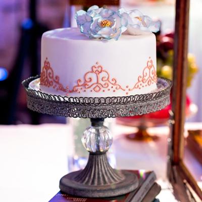 Vestuvių dekoravimas - vestuvinis tortas