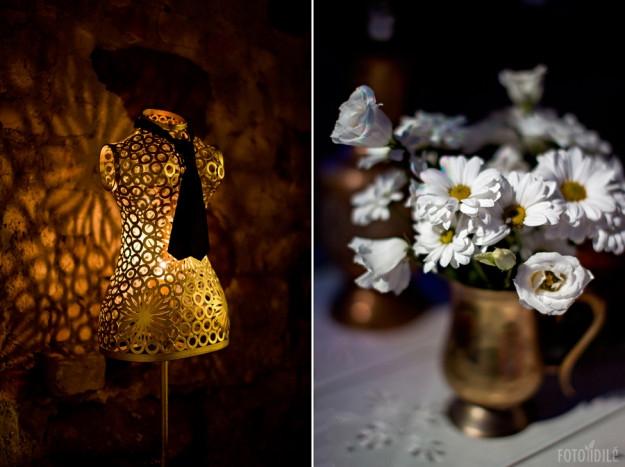 Žalvaris baroko vestuvėse