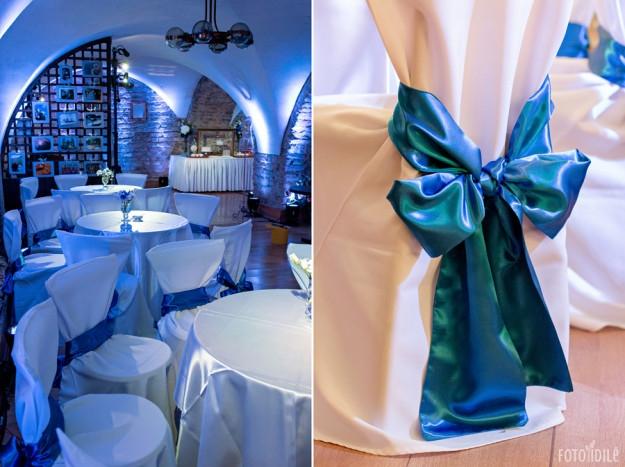 Mėlynos vestuvės - dekoravimas ir organizavimas