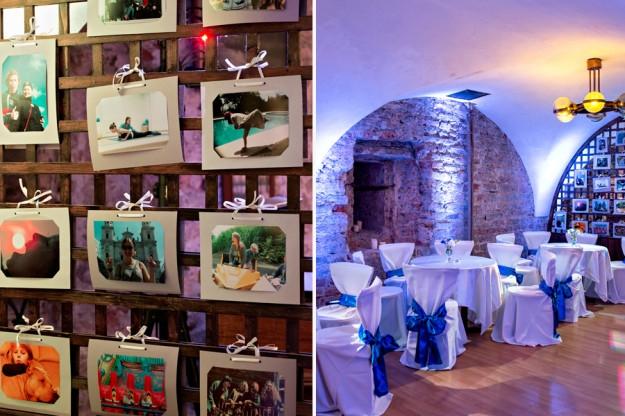 Vestuvių erdvės dekoras - foto sienelė