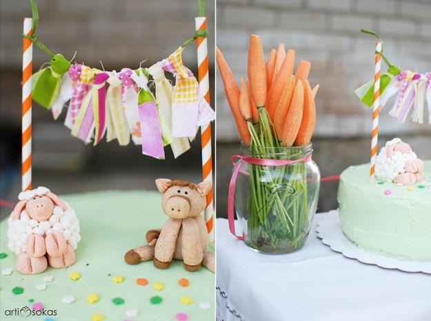 Vaikų gimtadienio idėjos - gimtadienis kaime