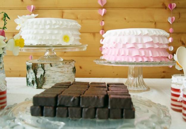 Jubiliejiniai tortai - gimtadienio dekoras