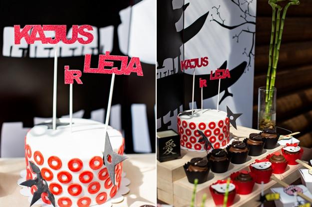 Vaikiškas gimtadienio tortas ir keksiukai
