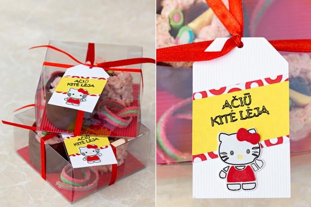Hello Kitty gimtadienis - mergaitėms