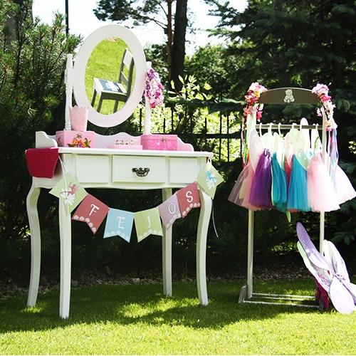 Fėjų gimtadienio dekoravimas ir organizavimas