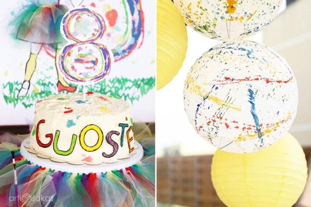 Teminis gimtadineio tortas - 8 metai