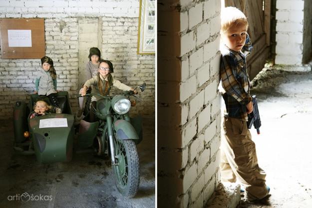 Kariniai žaidimai ir fotosesijos