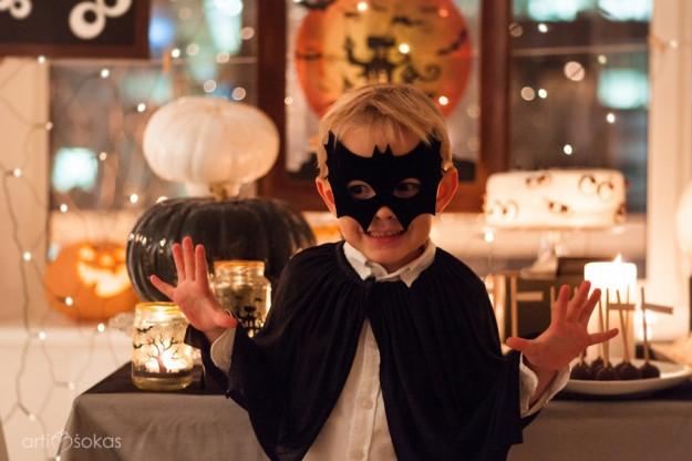 Helovino gimtadienis - berniuko šventė