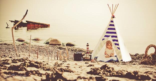 Dryžuota pakrantė ir Artišoko dekoras