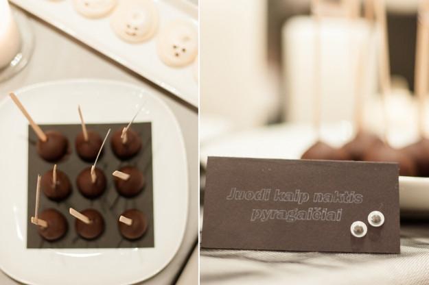 Helouvyno šventė - desertų stalas - cakepopsai ant pagaliukų