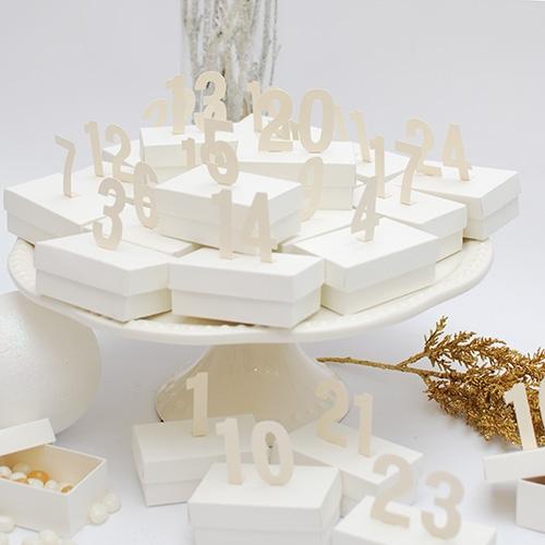 Advento kalendorius dėžutės