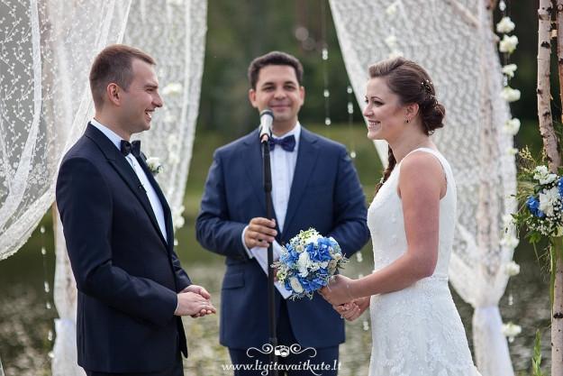 Priesaika ceremonijos metu
