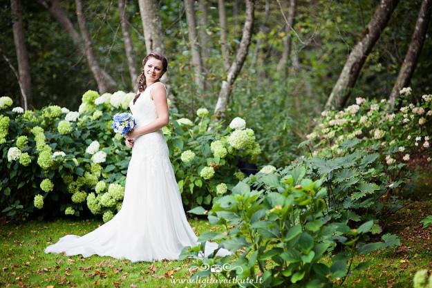 Jaunųjų vestuvinė fotosesija