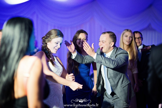 Šokių aikštelė vestuvėse