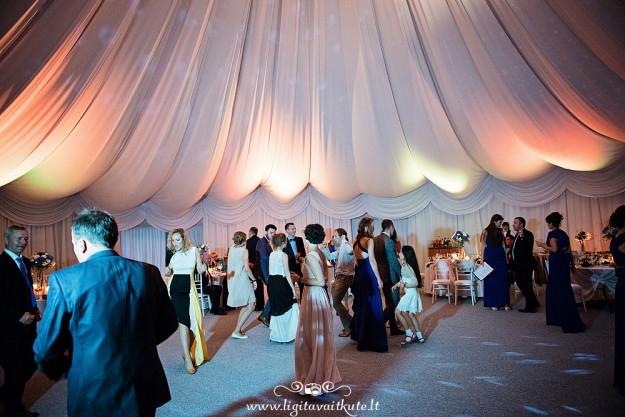Vestuvių šokių aikštelė