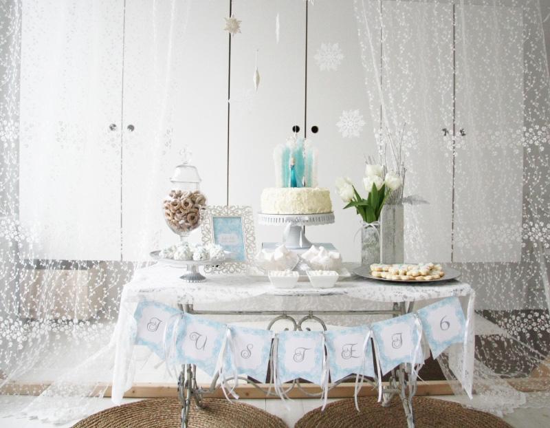 Frozen gimtadienis, dekoravimas ir organizavimas